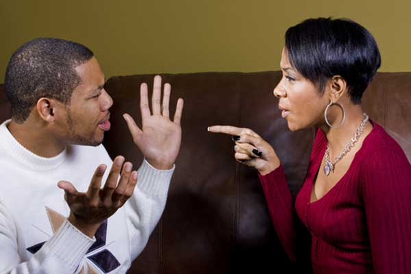 black-couple-arguing